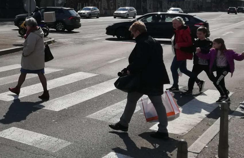 ZAGREB: Akcija Zaštita pješaka